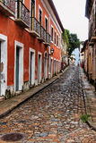 Stone Street Sao Luis do Maranhao Royalty Free Stock Photography