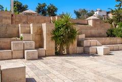 Stone streets of ancient Jerusalem Stock Photography