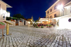 Stone streets of Nin Town Royalty Free Stock Photography