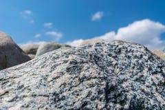 Stone, Structure, Baltic Sea Stock Photo