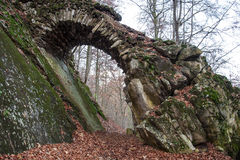 Stone structure in the countryside Royalty Free Stock Images