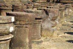 Stone Stumps Royalty Free Stock Photos