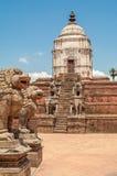 Stone Stupa in Bhaktapur Stock Photo
