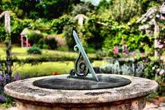 Sundial in Brodick Castle, Arran royalty free stock image
