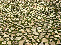 Stone Surface 1. Landscape photo of random stone paved surface royalty free stock images
