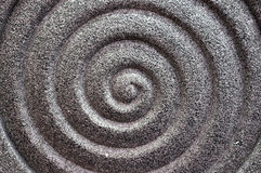 Stone surface as spirality Stock Photo