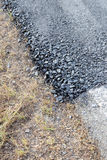 Stone surface tar tarmac. Royalty Free Stock Photography