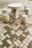 Stone  table Royalty Free Stock Photography