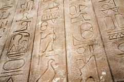 Stone Tablet with Hieroglphics Royalty Free Stock Photo