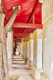 Stone Tablet inside the Confucius Temple at Beijing-the second l Royalty Free Stock Photos