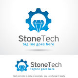 Stone Tech Logo Template Design Vector Royalty Free Stock Image