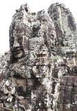 Stone  temple siem reap cambodia bayon Stock Image