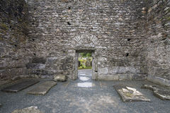 Stone temple tomb. Ireland, Wicklow park Stock Photos