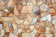 Stone Terracotta Mosaic Background Royalty Free Stock Images