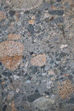 Stone texture 1. A detailed texture of a stone rich with mineral deposits stock image