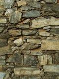 Stone texture. Detail view of wall stone texture stock photography