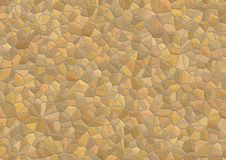 Stone texture. Wall from a natural stone (a structure with not correct geometry Vector Illustration