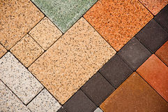 Stone texture. Stone floor mosaic background texture Royalty Free Stock Photography