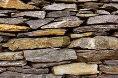 Stone texture. Stone bricks texture in garden Royalty Free Stock Photography