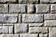 Stone Texture. Big Grey Bricks, Background Royalty Free Stock Photography