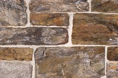 Stone texture. Old stone wall stock image