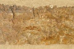 Stone Texture Background. Brown, tan, orange, stone grunge background Stock Image