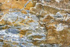 Stone texture background, Orange and gray surface Stock Photos