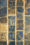 Stone texture of brown and blue Royalty Free Stock Photos
