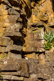 Stone texture closeup background Madeira Portugal Royalty Free Stock Images