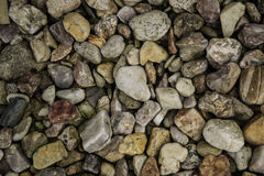 Stone texture. Different kinds of stones, natural background Stock Photos