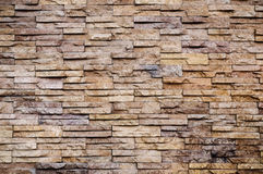 Stone texture, old stone slate wall Stock Photo