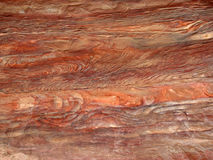 Stone texture in Petra Stock Images