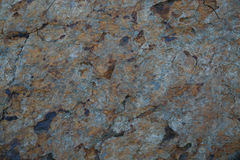 Stone texture with rust Stock Photography