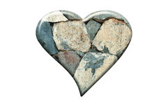 Stone Heart Stock Image