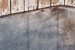 Stone texture or stone background with wood for interior exterior decoration and industrial construction concept design. Stone motifs that occurs natural Royalty Free Stock Images