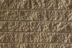 Stone texture. On wall of bricks Royalty Free Stock Images