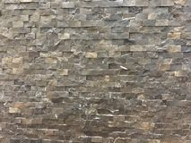 Stone texture. Wall decorated with stones Stock Photo