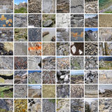 STONE TEXTURES 68 PICTURES Stock Photography