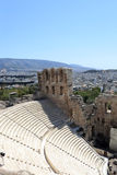 Stone theatre Odeon of Herodes Atticus Stock Photos