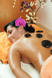 Stone therapy in Spa Stock Image