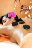 Stone therapy in Spa Royalty Free Stock Image