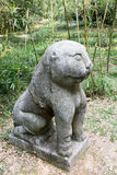 Stone tiger Stock Photos