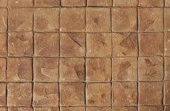 Stone tile floor Royalty Free Stock Photo
