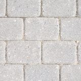 Stone tile floor paving Royalty Free Stock Photo