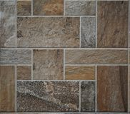 Free Stone Tile Rustic Floor. The Tiles Are Made Of Polished Rocks Of Different  Types,colors And Shapes . Stock Images - 114192374
