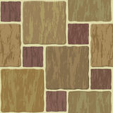 Stone tile seamless background Royalty Free Stock Images