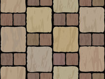 Stone tile seamless background Royalty Free Stock Image
