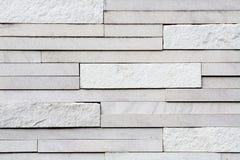 Stone tile texture. White stone tile wall texture Stock Image