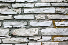Stone tile texture brick wall Royalty Free Stock Photos