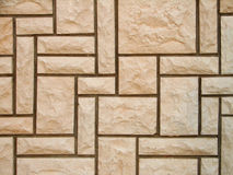 Stone tiles. Wall covered with stone tiles Royalty Free Stock Image